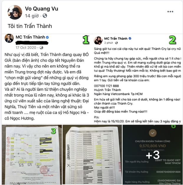 Giữa bão sao kê, anh trai Trường Giang nói 1 câu gây chú ý về số tiền 50 tỷ có người nhã ý tặng Trấn Thành - Ảnh 2.
