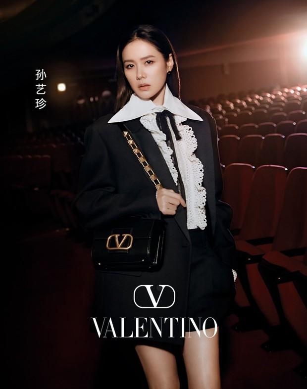 Son Ye Jin đẹp ngất ngây trong loạt ảnh mới: Mặt đẹp sang chảnh như tài phiệt, nhìn xuống chân dài nuột nà còn choáng hơn - Ảnh 3.