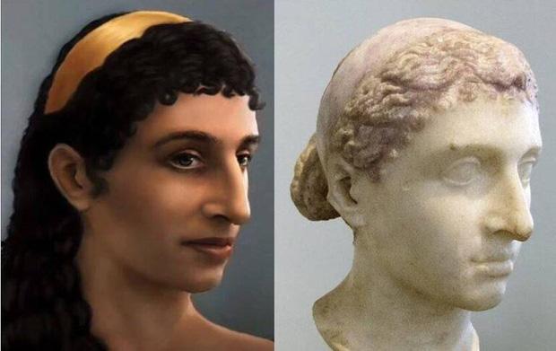 Chuyên gia phục dựng hình ảnh Nữ hoàng Ai Cập Cleopatra, dung nhan thật của huyền thoại sắc đẹp khác hoàn toàn hậu thế tưởng tượng - Ảnh 6.