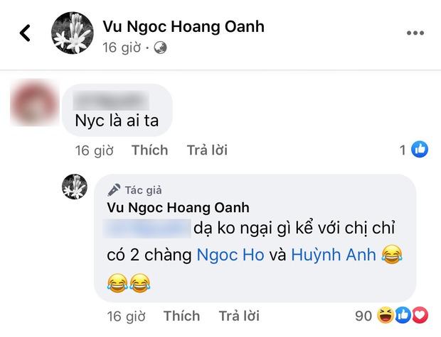 Trước khi bị Huỳnh Anh nhắc đến với thái độ kém duyên, Hoàng Oanh lại ghi điểm tuyệt đối vì hành động này - Ảnh 3.