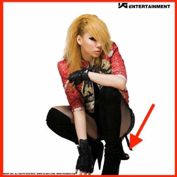 Những pha photoshop đi vào lòng đất: Ở đâu chui ra 1 bàn tay lạ khoác vai Taeyeon, chị đại CL có hẳn 3 bàn chân - Ảnh 4.