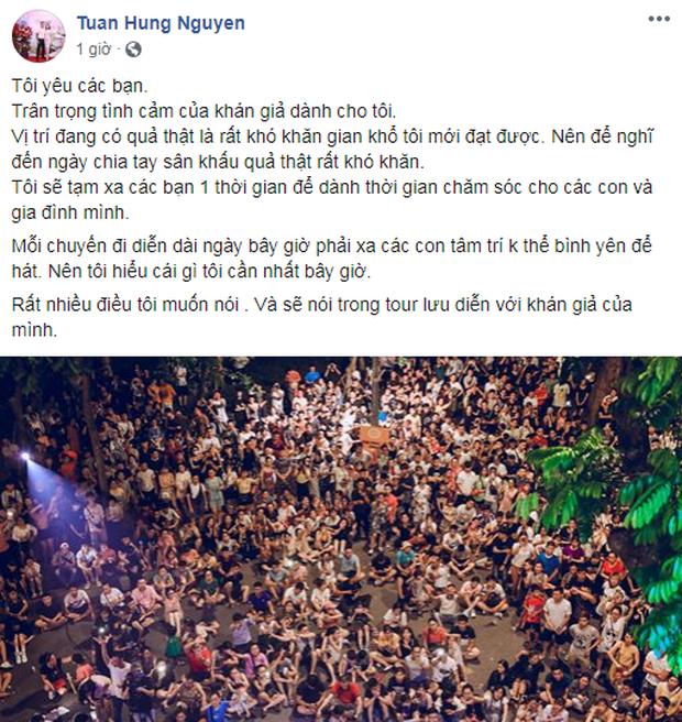 Khi ca sĩ Việt tuyên bố giải nghệ: Thủy Tiên - Đông Nhi nuốt lời rồi lại comeback, Hoài Lâm đổi nghệ danh, còn Tuấn Hưng thì sao? - Ảnh 26.