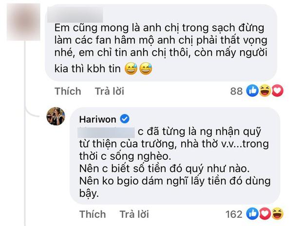Không vòng vo, Hari Won chỉ nói 3 chữ cho thấy thái độ với Trấn Thành sau nhiều ngày vượt bão sao kê - Ảnh 4.