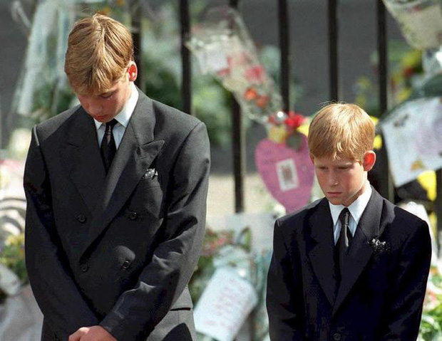 Anh em Hoàng tử William không được phép khóc và những chi tiết đau lòng ít ai biết tại tang lễ Công nương Diana 24 năm về trước - Ảnh 2.