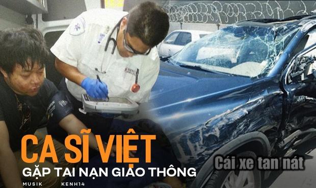 Sự cố đau lòng khi sao Việt đi diễn: Quang Lê gặp tai nạn giao thông nguy hiểm, người nguy kịch nhưng chưa xót bằng những tin dữ tử vong - Ảnh 1.