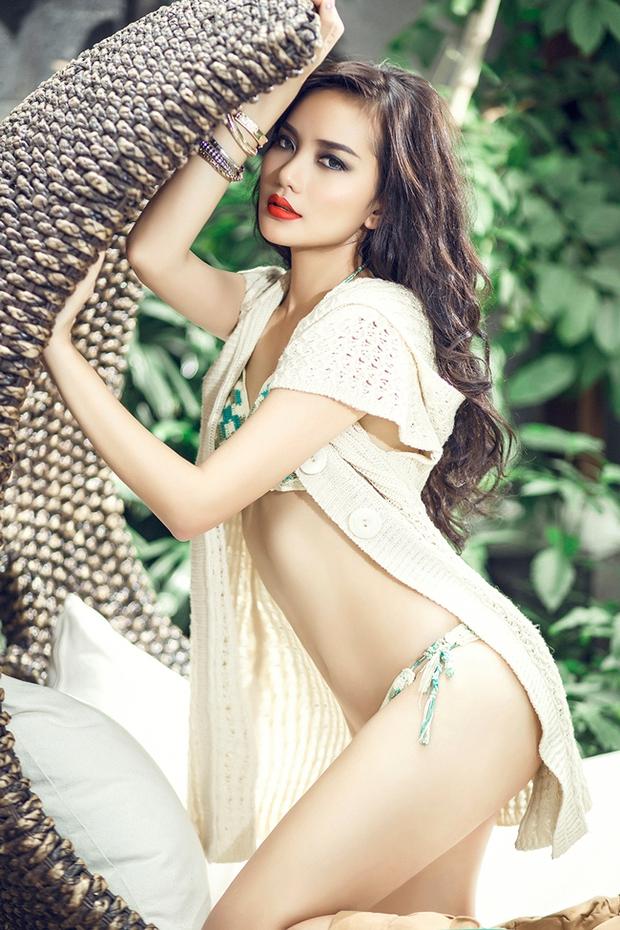 Soi ảnh Phan Như Thảo gần 10 năm trước: Body người mẫu khiến đại gia mê đắm, visual thế nào mà lấn át Ngọc Trinh? - Ảnh 4.