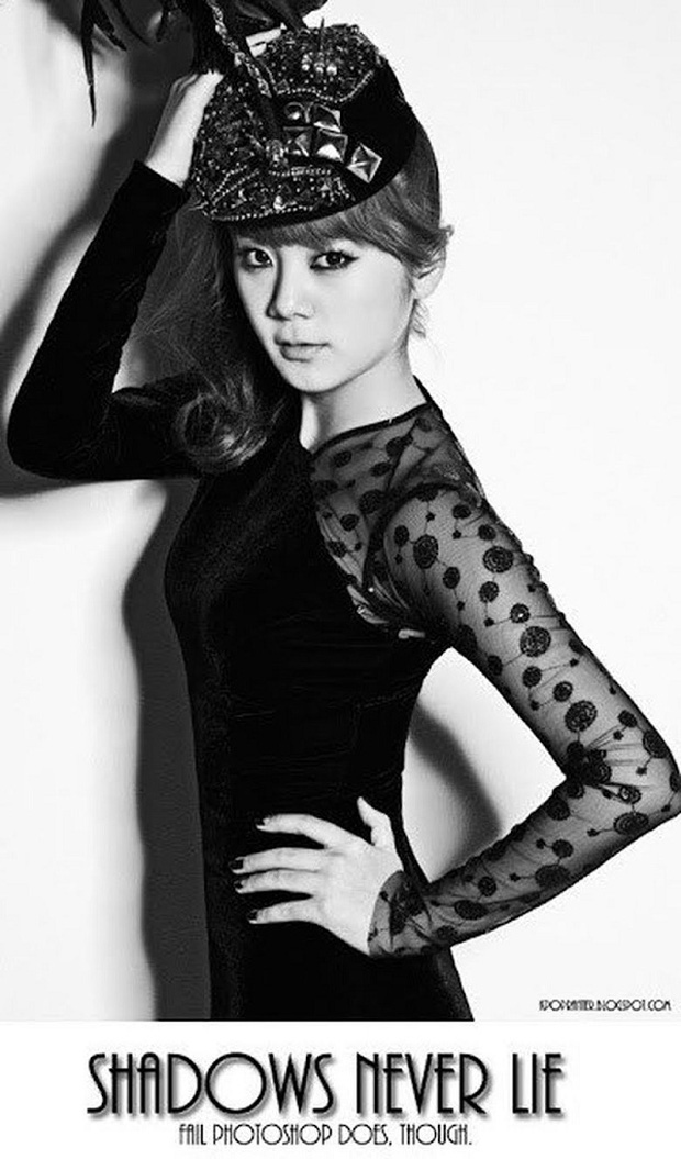 Những pha photoshop đi vào lòng đất: Ở đâu chui ra 1 bàn tay lạ khoác vai Taeyeon, chị đại CL có hẳn 3 bàn chân - Ảnh 8.