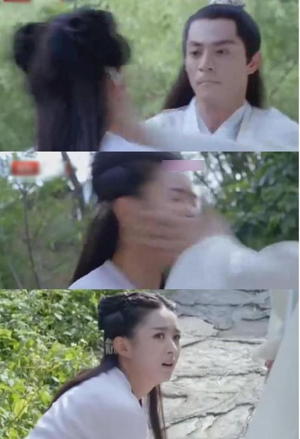 2 mỹ nhân từng bị Hoắc Kiến Hoa tát thật 100% trên phim: Triệu Lệ Dĩnh té sấp mặt, cô còn lại xém bất tỉnh trên set quay - Ảnh 4.