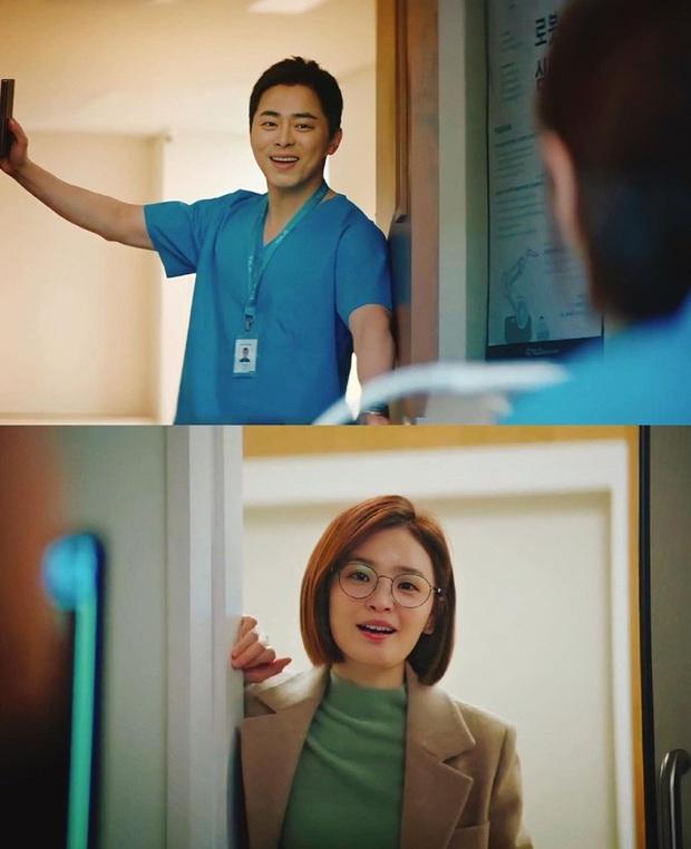 Netizen bấn loạn khi Ik Jun - Song Hwa hôn nhau cực ngọt ở Hospital Playlist: Đợi hơn 1 năm quả là xứng đáng! - Ảnh 4.