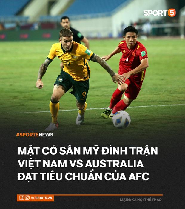 Mặt cỏ sân Mỹ Đình trận Việt Nam gặp Australia đạt tiêu chuẩn AFC - Ảnh 2.