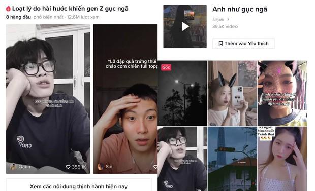 Trend lạ hút 40 nghìn video: Gen Z đua nhau gục ngã vì những lý do khó đỡ, có trúa hề Quang Trung đu theo quá duyên! - Ảnh 4.