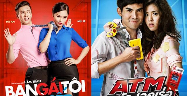 """Bạn Gái Tôi Là Sếp"""" trình nào so với bản gốc """"ATM"""" (Thái Lan)?"""