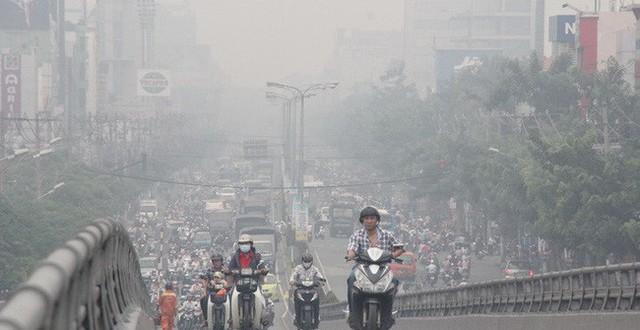 Bụi mịn gây hại nghiêm trọng ở Hà Nội và TP.HCM và nguy cơ ảnh hưởng sức  khỏe phổi