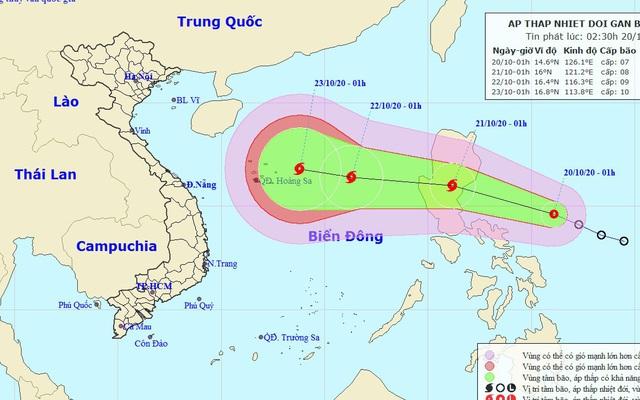 Bác tin siêu bão cấp 17 đổ bộ vào miền Trung đang lan truyền