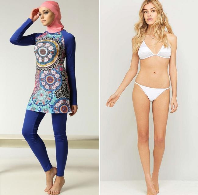 Đây là trang phục dạo phố? Không đâu, nó thực ra là áo tắm của phụ nữ Hồi giáo - Ảnh 2.