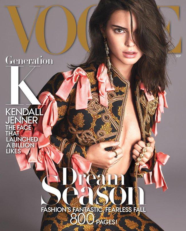 Bức ảnh này của Kendall Jenner đã không được Vogue cho lên sóng vì quá nóng - Ảnh 1.