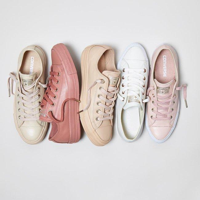 Giày Converse có thể xinh yêu, sang chảnh đến như thế này sao? - Ảnh 1.