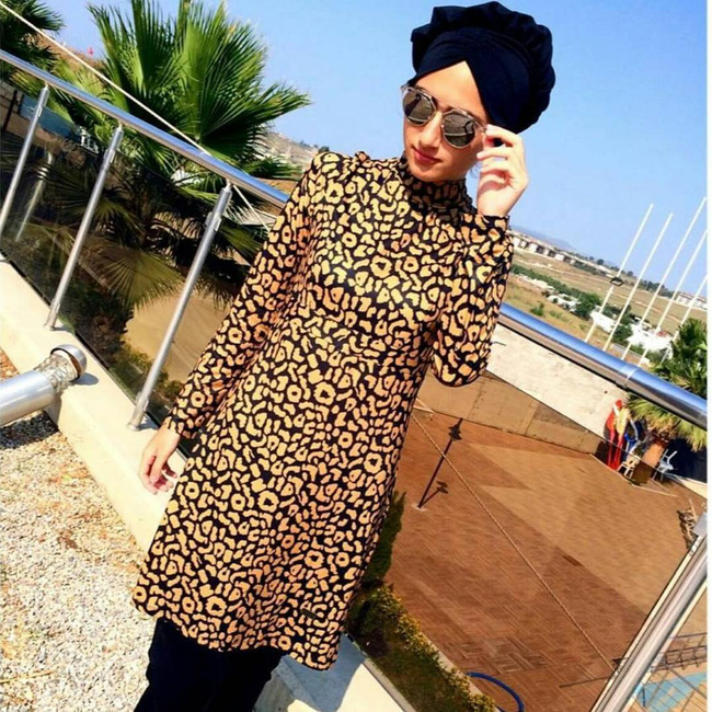 Đây là trang phục dạo phố? Không đâu, nó thực ra là áo tắm của phụ nữ Hồi giáo - Ảnh 3.