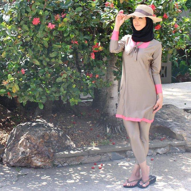 Đây là trang phục dạo phố? Không đâu, nó thực ra là áo tắm của phụ nữ Hồi giáo - Ảnh 6.