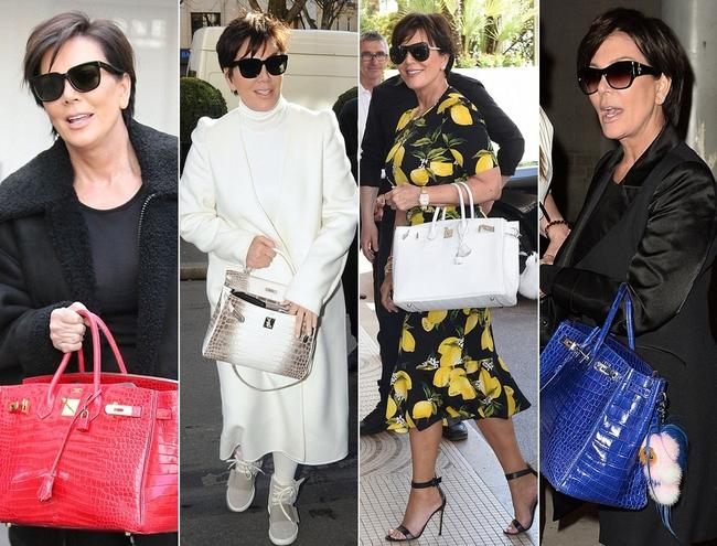 Nếu Kylie Jenner có tủ giày như đại lý thì mẹ cô nàng cũng có cả kệ đầy túi Hermes như cửa hàng - Ảnh 5.