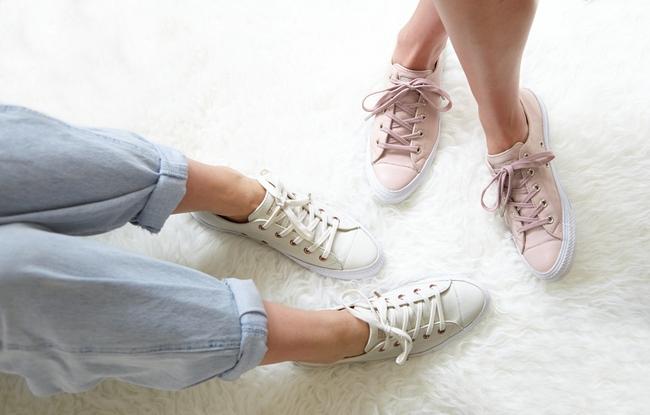 Giày Converse có thể xinh yêu, sang chảnh đến như thế này sao? - Ảnh 5.