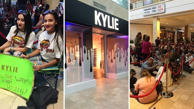 Kylie Jenner khai trương pop-up store, fan xếp hàng chật kín trung tâm thương mại - Ảnh 7.