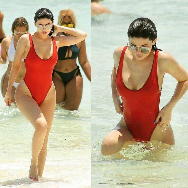 Bỏng mắt với thời trang bikini của ba chị em Kim, Kylie và Kendall - Ảnh 7.