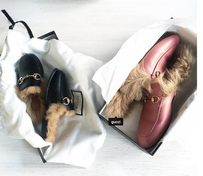 Sử dụng lông kangaroo để lót giày trong bộ sưu tập mới, Gucci bị chỉ trích dữ dội - Ảnh 1.