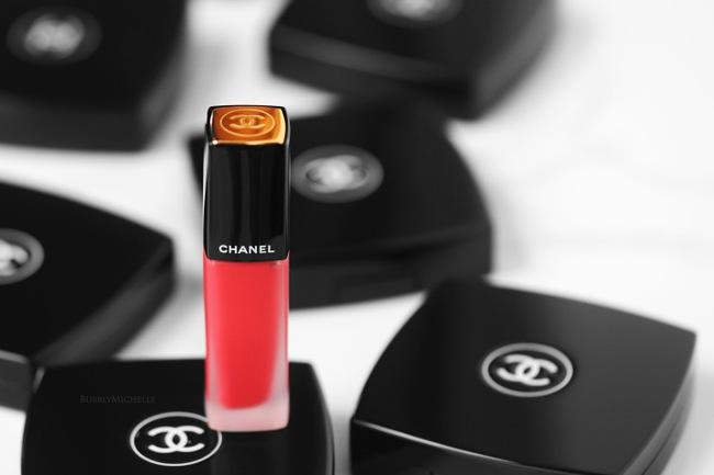 Swatch tận mắt & cảm nhận thật về 8 màu son kem lì Chanel đang sốt cùng beauty blogger Changmakeup - Ảnh 3.