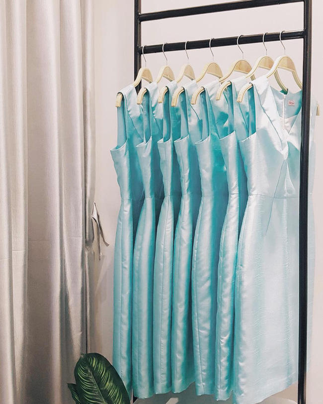 Ngắm trọn bộ 7 chiếc váy cưới, 4 bộ áo dài cùng loạt phụ kiện xa xỉ của cô gái thời tiết Mai Ngọc - Ảnh 29.