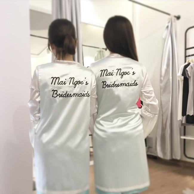 Ngắm trọn bộ 7 chiếc váy cưới, 4 bộ áo dài cùng loạt phụ kiện xa xỉ của cô gái thời tiết Mai Ngọc - Ảnh 32.