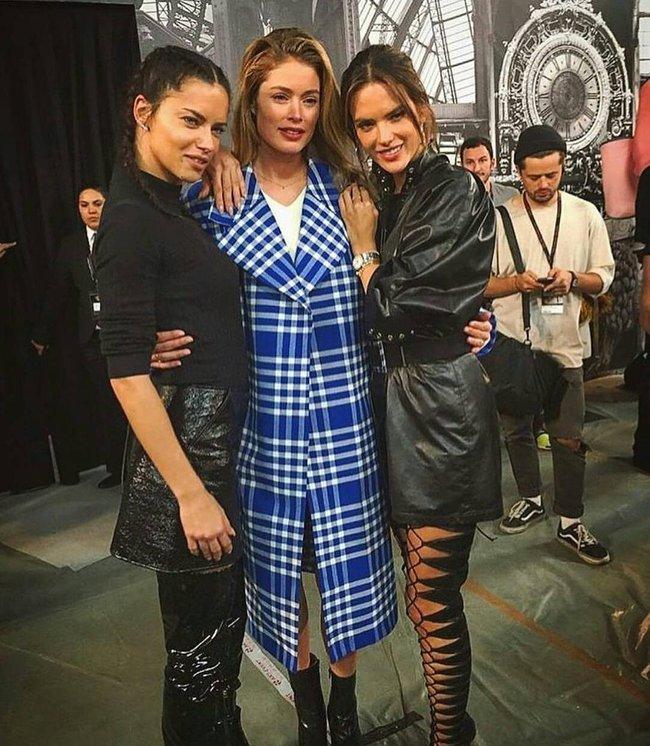 Cựu thiên thần Doutzen bất ngờ xuất hiện tại buổi tổng duyệt Victorias Secret Fashion Show 2016 - Ảnh 11.