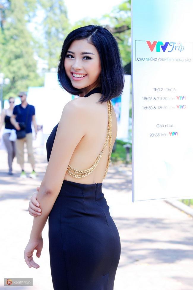 Á hậu Thanh Tú đọ sắc cùng người đẹp biển Đào Thị Hà sau cuộc thi HHVN 2016 - Ảnh 4.