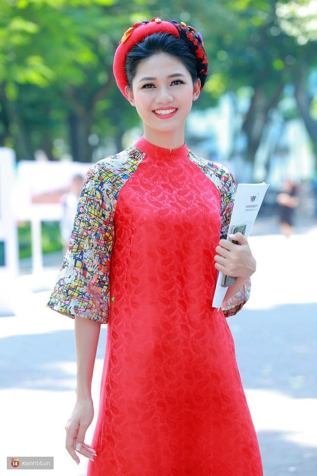 Á hậu Thanh Tú đọ sắc cùng người đẹp biển Đào Thị Hà sau cuộc thi HHVN 2016 - Ảnh 1.