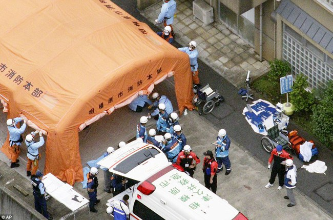 Vụ việc được đánh giá là đẫm máu nhất trong lịch sử Nhật Bản kể từ Thế Chiến thứ II.
