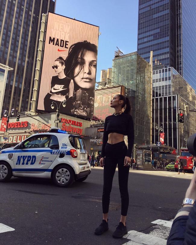 Bella Hadid bị chê quá gầy gò và ốm yếu để có thể làm gương mặt đại diện cho Nike - Ảnh 4.
