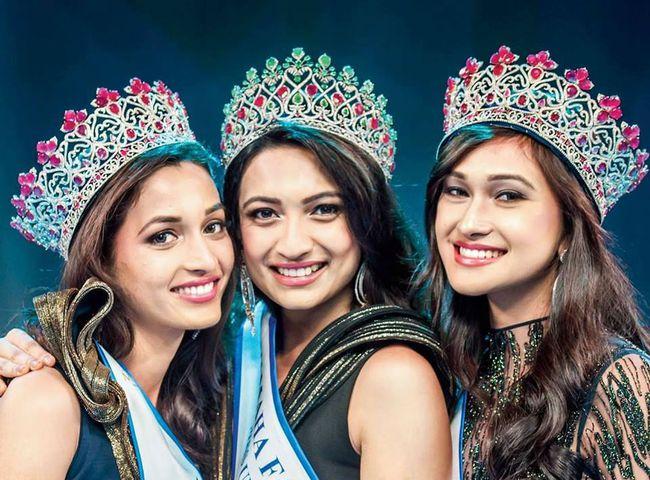 Nhan sắc mặn mà như minh tinh điện ảnh của Hoa hậu Hoàn vũ Ấn Độ 2016 - Ảnh 1.