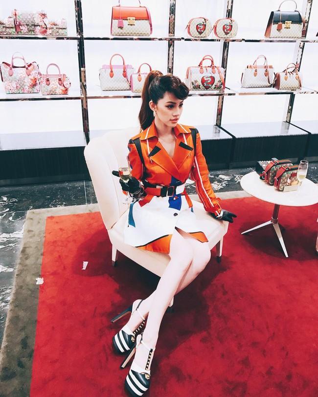 Hà Hồ, Lan Khuê và loạt fashionista, fashionisto Việt khoe ảnh dự tiệc thời trang ngập cả Instagram - Ảnh 8.