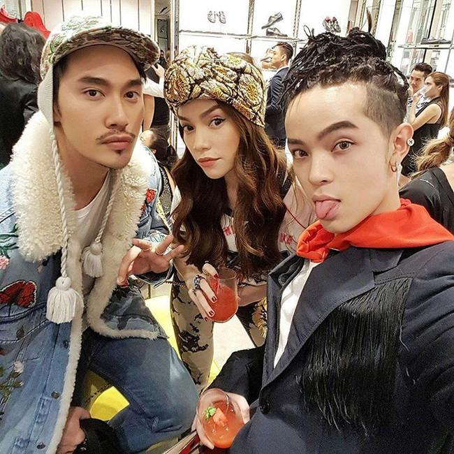 Hà Hồ, Lan Khuê và loạt fashionista, fashionisto Việt khoe ảnh dự tiệc thời trang ngập cả Instagram - Ảnh 4.
