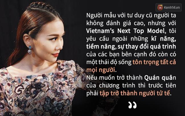 Cô giáo Thanh Hằng nói câu nào, thấm câu đó trong tập 3 Next Top - Ảnh 4.