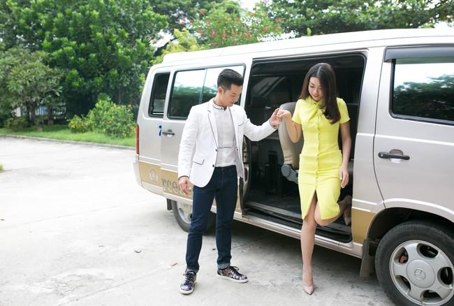 Tân Hoa hậu Mỹ Linh xinh đẹp rực rỡ, kết đôi cùng Đức Tuấn trong dự án quảng bá du lịch - Ảnh 1.