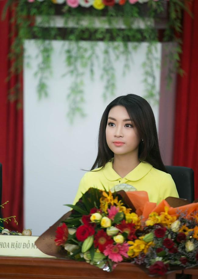 Tân Hoa hậu Mỹ Linh xinh đẹp rực rỡ, kết đôi cùng Đức Tuấn trong dự án quảng bá du lịch - Ảnh 3.