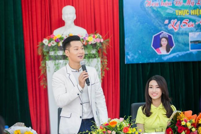 Tân Hoa hậu Mỹ Linh xinh đẹp rực rỡ, kết đôi cùng Đức Tuấn trong dự án quảng bá du lịch - Ảnh 5.