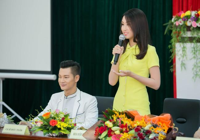 Tân Hoa hậu Mỹ Linh xinh đẹp rực rỡ, kết đôi cùng Đức Tuấn trong dự án quảng bá du lịch - Ảnh 8.