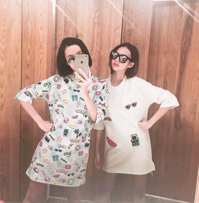 Phí Phương Anh, Quỳnh Anh Shyn, Salim... là những cô nàng tiên phong trong trào lưu đồ đôi của năm 2016 - Ảnh 2.