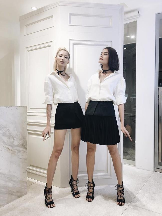 Phí Phương Anh, Quỳnh Anh Shyn, Salim... là những cô nàng tiên phong trong trào lưu đồ đôi của năm 2016 - Ảnh 9.