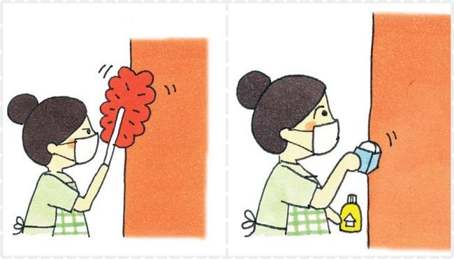 Bỏ túi ngay mẹo nhỏ để làm sạch tường và trần nhà nhanh còn dọn nhà đón Tết - Ảnh 2.