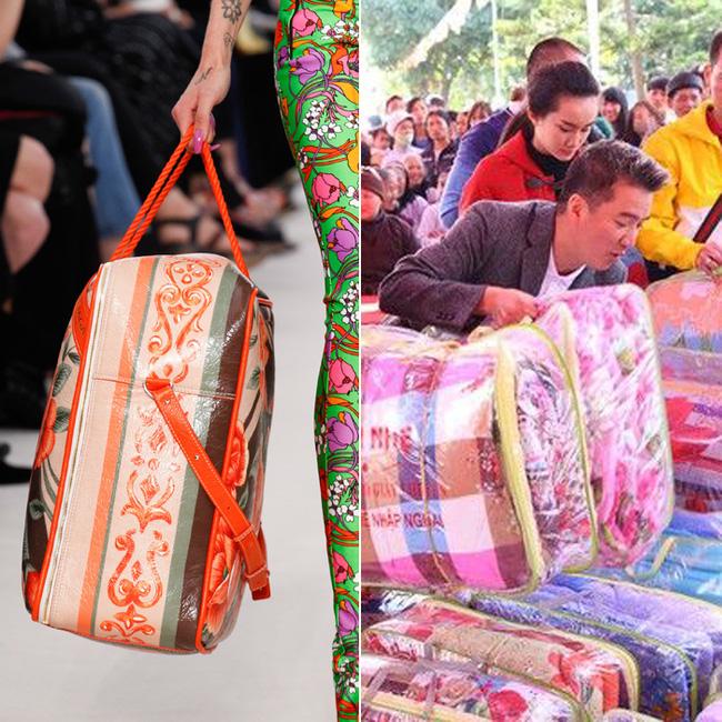 Thời nay, cái làn đi chợ & túi đựng chăn của các mẹ cũng thành hàng hiệu bán vài trăm triệu được - Ảnh 7.