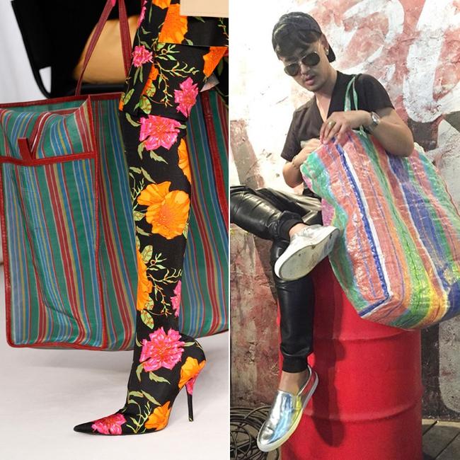 Thời nay, cái làn đi chợ & túi đựng chăn của các mẹ cũng thành hàng hiệu bán vài trăm triệu được - Ảnh 4.