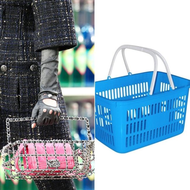 Thời nay, cái làn đi chợ & túi đựng chăn của các mẹ cũng thành hàng hiệu bán vài trăm triệu được - Ảnh 15.